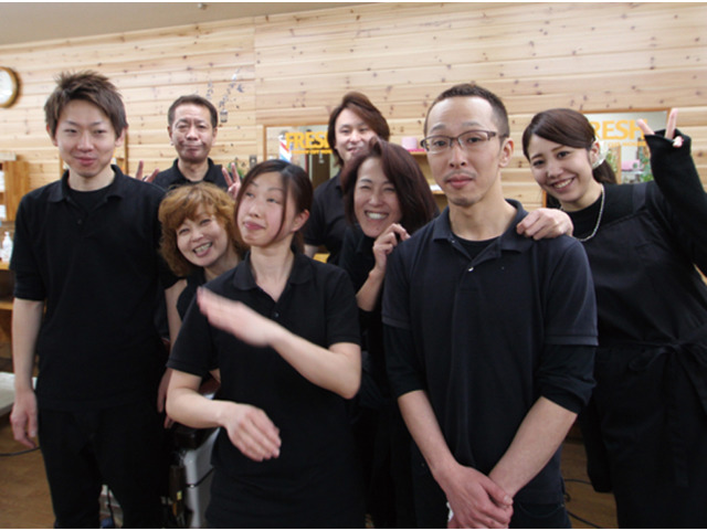 株式会社フレッシュ(理・美容フレッシュ)のアルバイト情報
